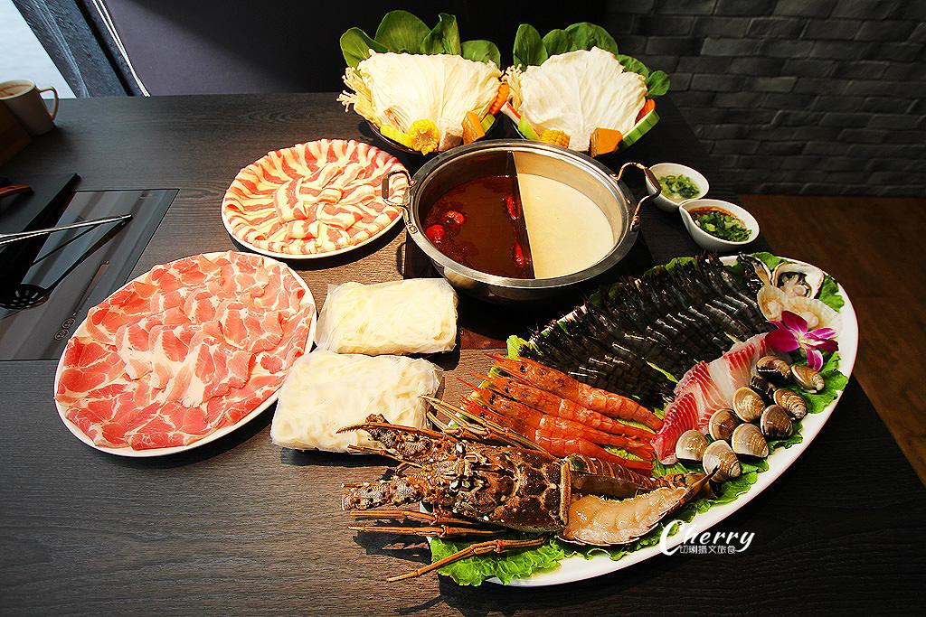 20171205001108_82 高雄|方圓涮涮屋新鮮海鮮盤,大隻龍蝦與滿滿蝦爆鍋