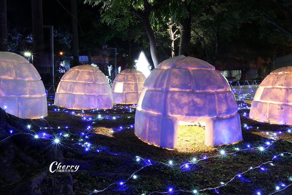 20171208121754_85 屏東|聖誕節燦爛在屏東公園,走在主題燈區浪漫體驗
