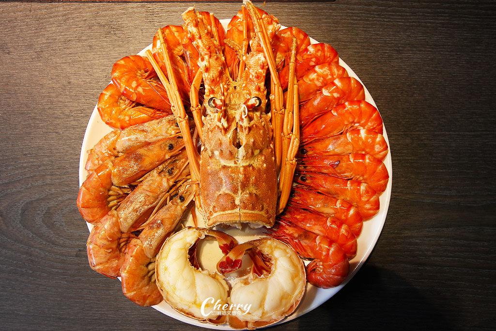 20171213050915_57 高雄|方圓涮涮屋新鮮海鮮盤,大隻龍蝦與滿滿蝦爆鍋