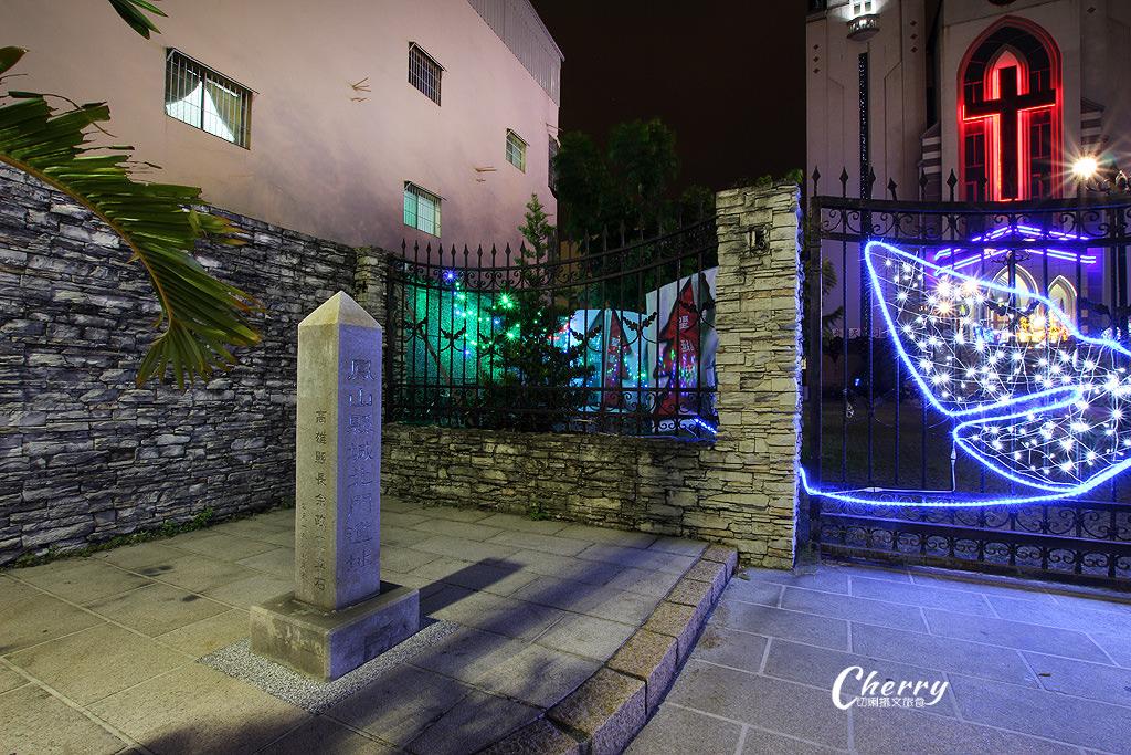 20171213070646_69 高雄|鳳山教會,聖誕點燈增添異國浪漫情調