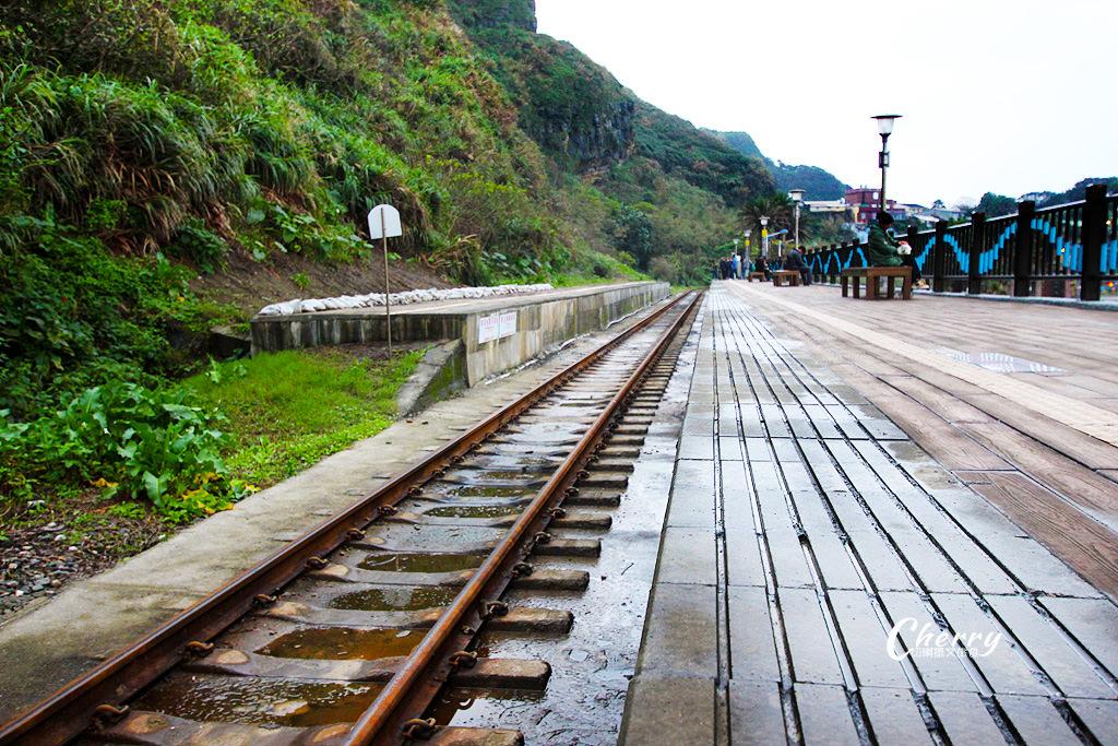 20180223105519_35 新北 八斗子車站靠山臨海,基隆新北交界的鐵道小站