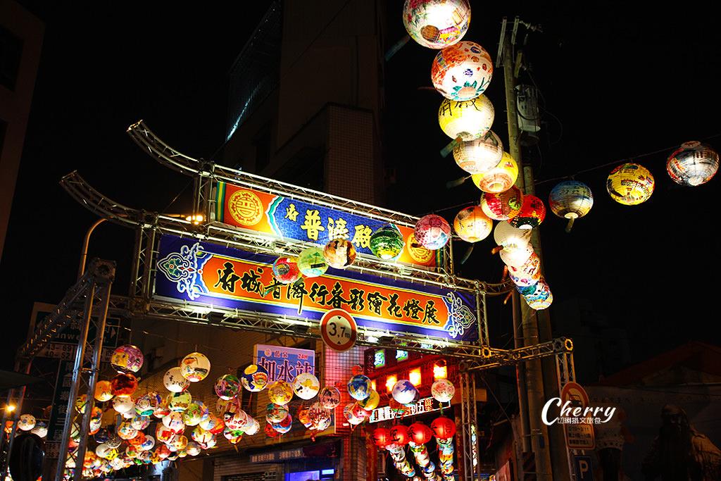 20180310044927_15 台南|普濟殿元宵燈會,千盞彩繪花燈繽紛照夜空