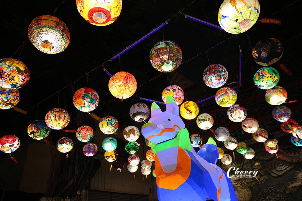 20180310044946_49 台南|普濟殿元宵燈會,千盞彩繪花燈繽紛照夜空