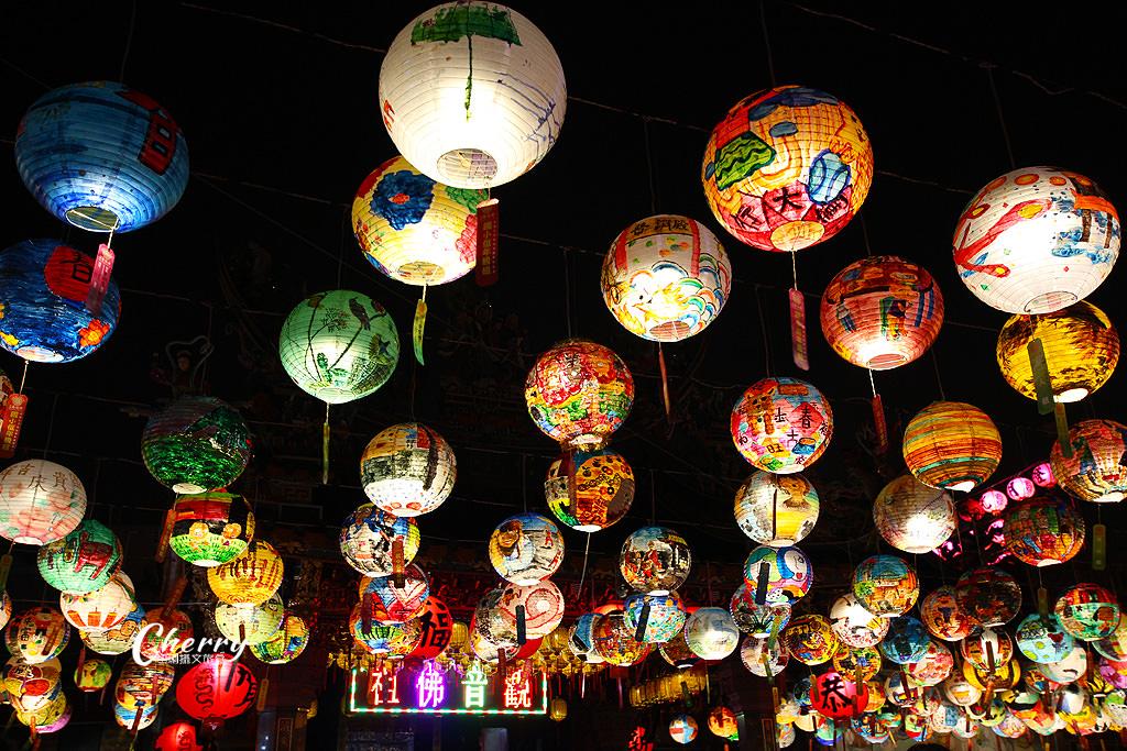 20180310044952_13 台南|普濟殿元宵燈會,千盞彩繪花燈繽紛照夜空