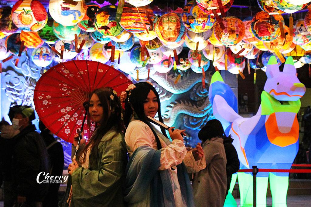 20180310044953_61 台南|普濟殿元宵燈會,千盞彩繪花燈繽紛照夜空