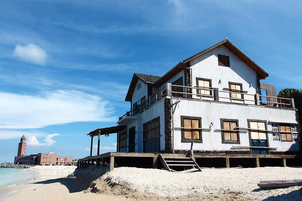 澎湖北海遊客中心與小木屋