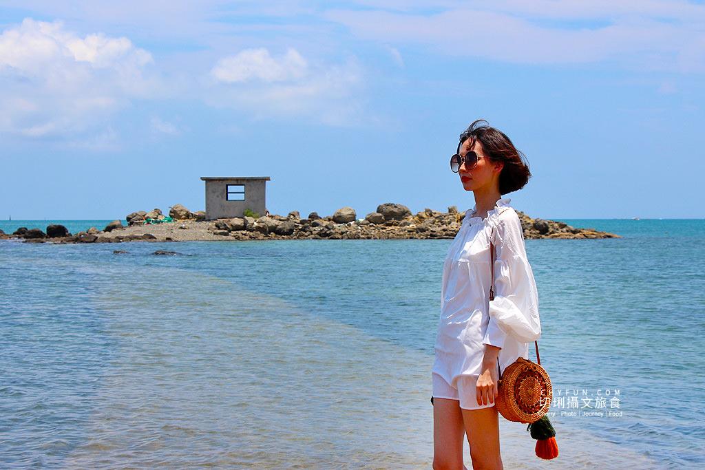澎湖景點、講美小屋、澎湖海中央