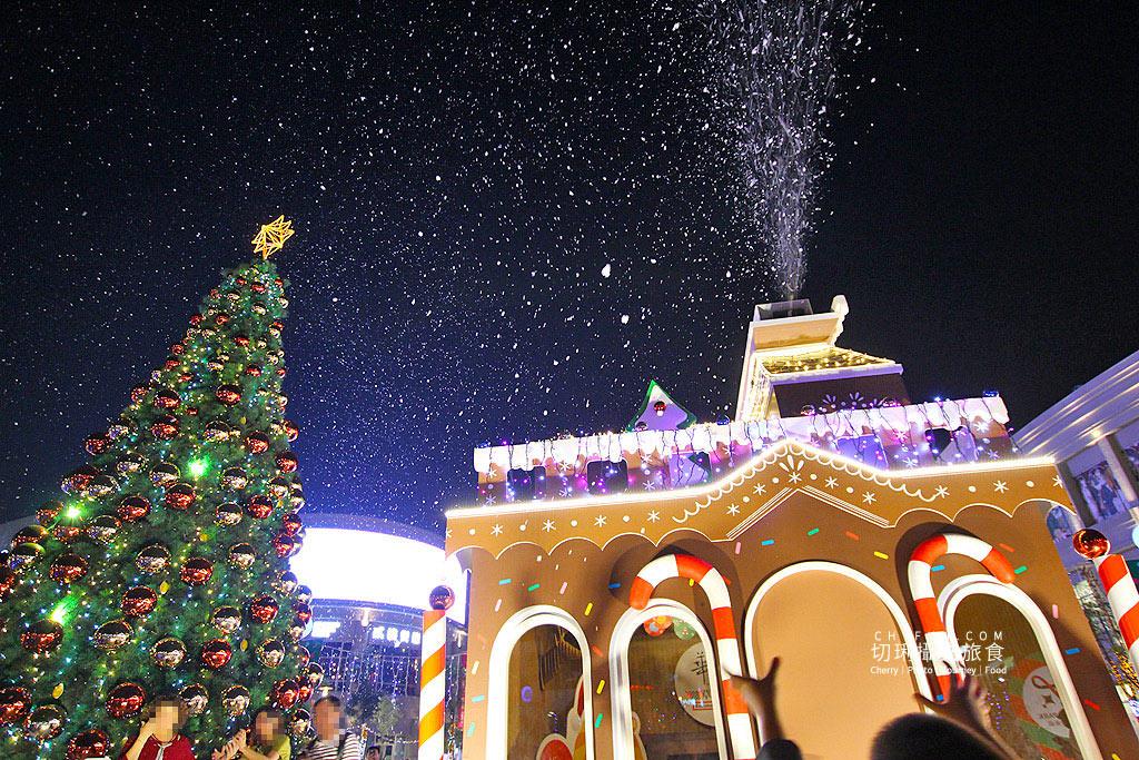 20181205014943_77 高雄 草衙道聖誕歡樂,整點飄雪與超萌裝置超浪漫