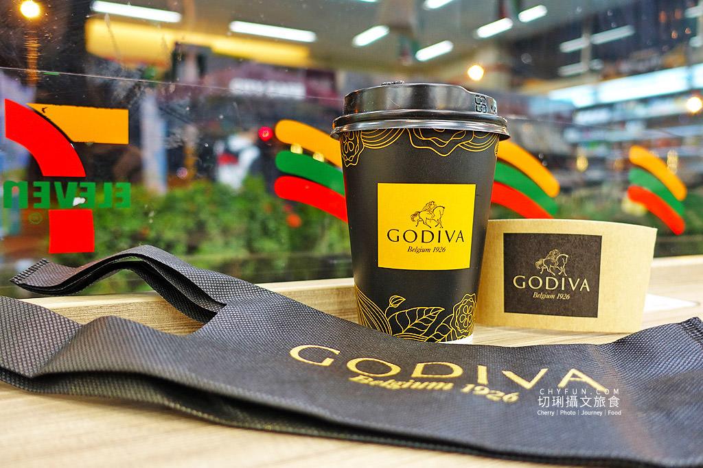 7-ELEVEN x GODIVA冬季限定「醇黑熱巧克力」全台限量65萬杯