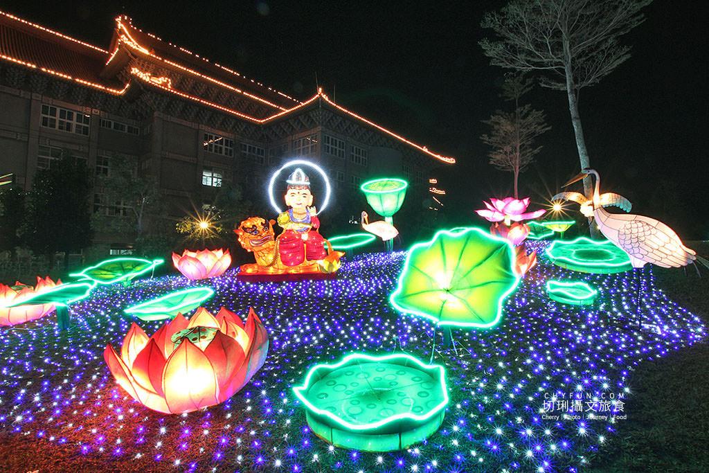 2019佛光山平安燈會