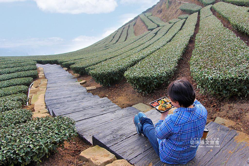 20190325031835_3 嘉義|瑞峰1314觀景台享茶園浪漫,在山頂藍天雲霧中品味茶便當
