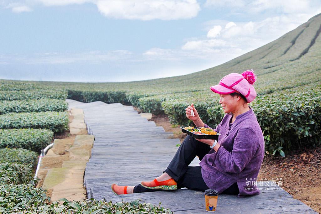 20190325031837_5 嘉義|瑞峰1314觀景台享茶園浪漫,在山頂藍天雲霧中品味茶便當