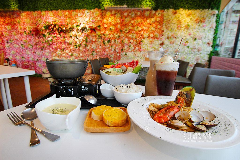 高雄美食、鳳山美食、寵物友善餐廳、朵映花花世界
