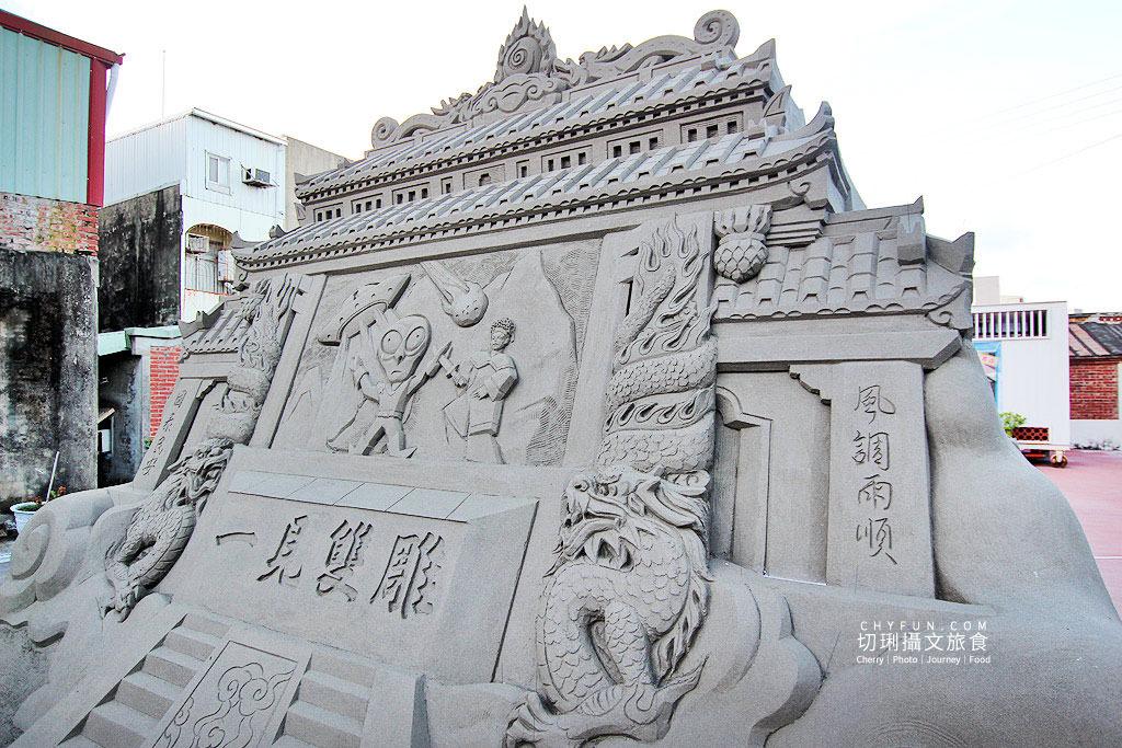 20190718025235_8 台南|將軍半日遊馬沙溝彩繪村找3D樂趣,沙雕藝術展立體好呈現