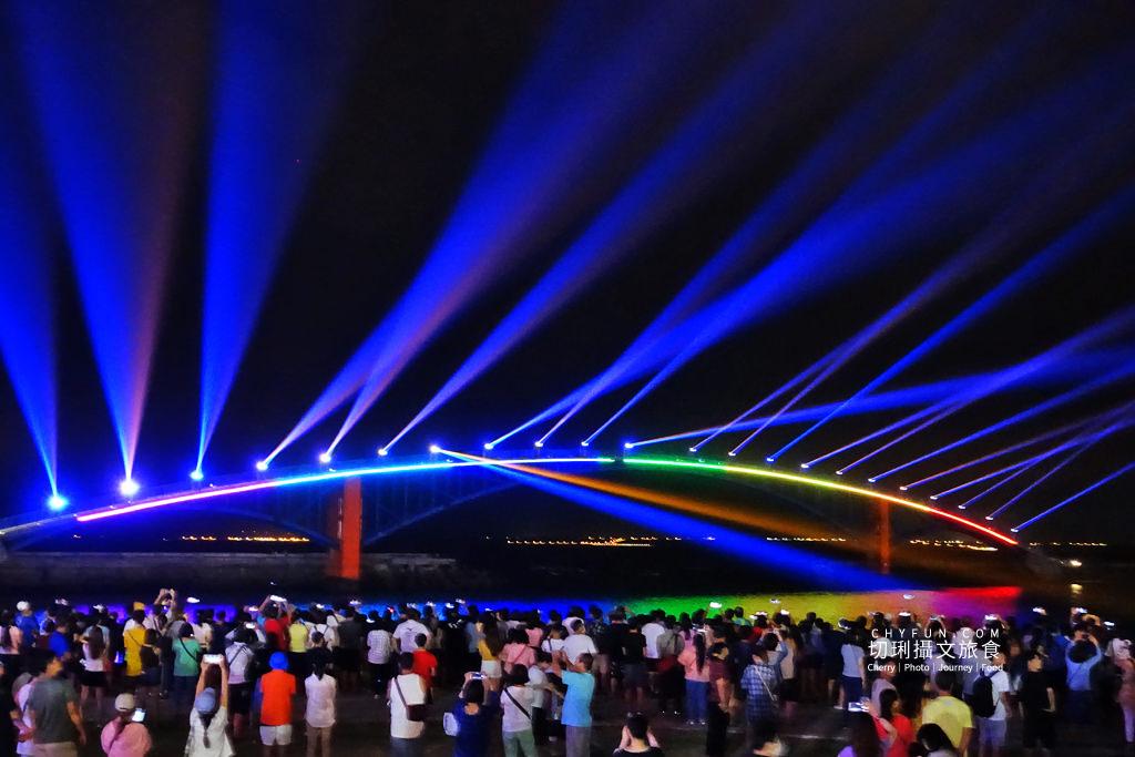 20190826204303_28 澎湖|海灣燈光節閃耀登場,亮點眾多鯨動觀音亭