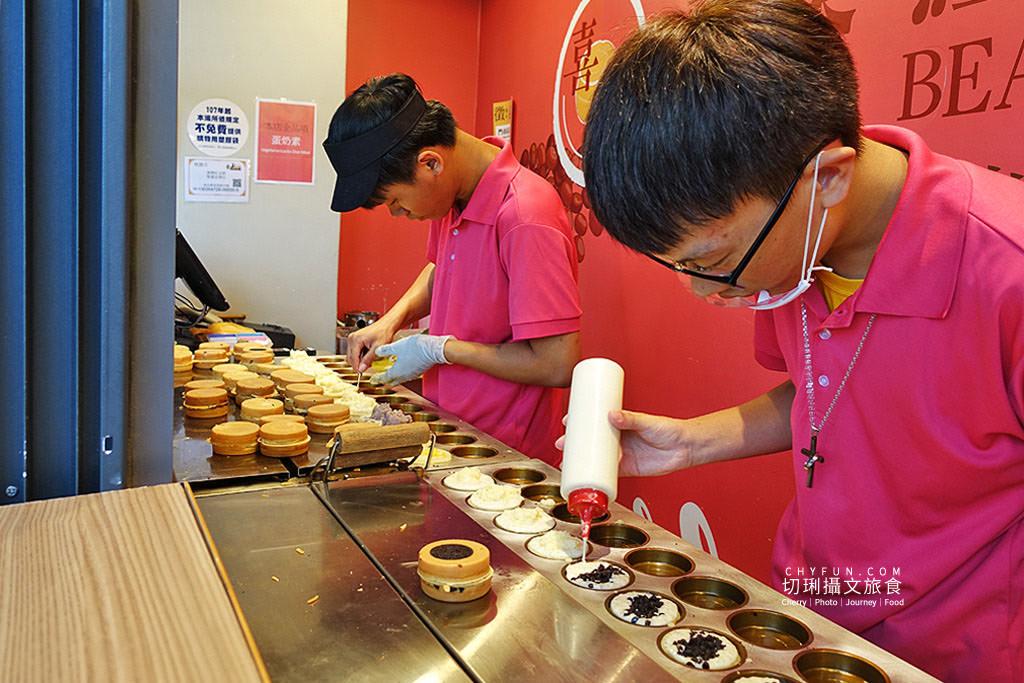 20190910070543_93 花蓮|花蓮車站商店家喜樂紅豆餅厚實料多,OREO餅乾都整塊加入