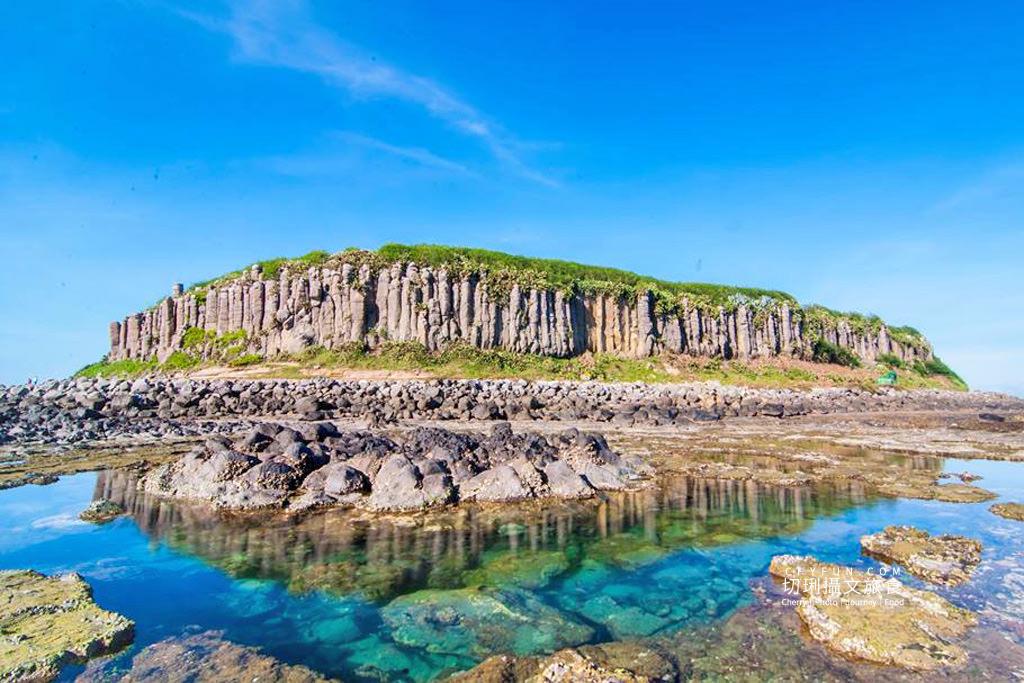 澎湖旅遊、澎湖景點、桶盤玄武岩、蓮花座