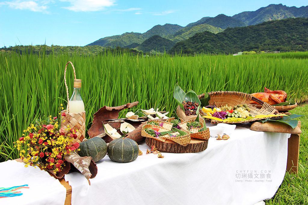 花蓮旅遊、花蓮部落旅行、織羅部落、稻田腳印餐桌、餐桌旅行