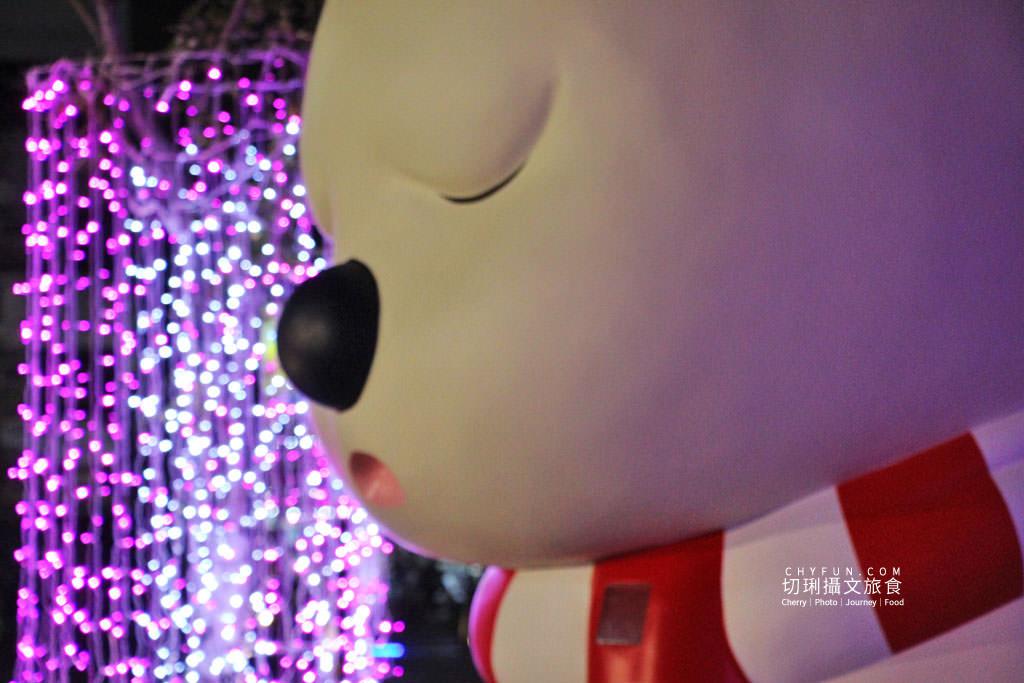 20191218031546_100 嘉義|嘉義車站三米高沉睡白熊回嘉迎賓,聖誕點燈報佳音歡迎光林