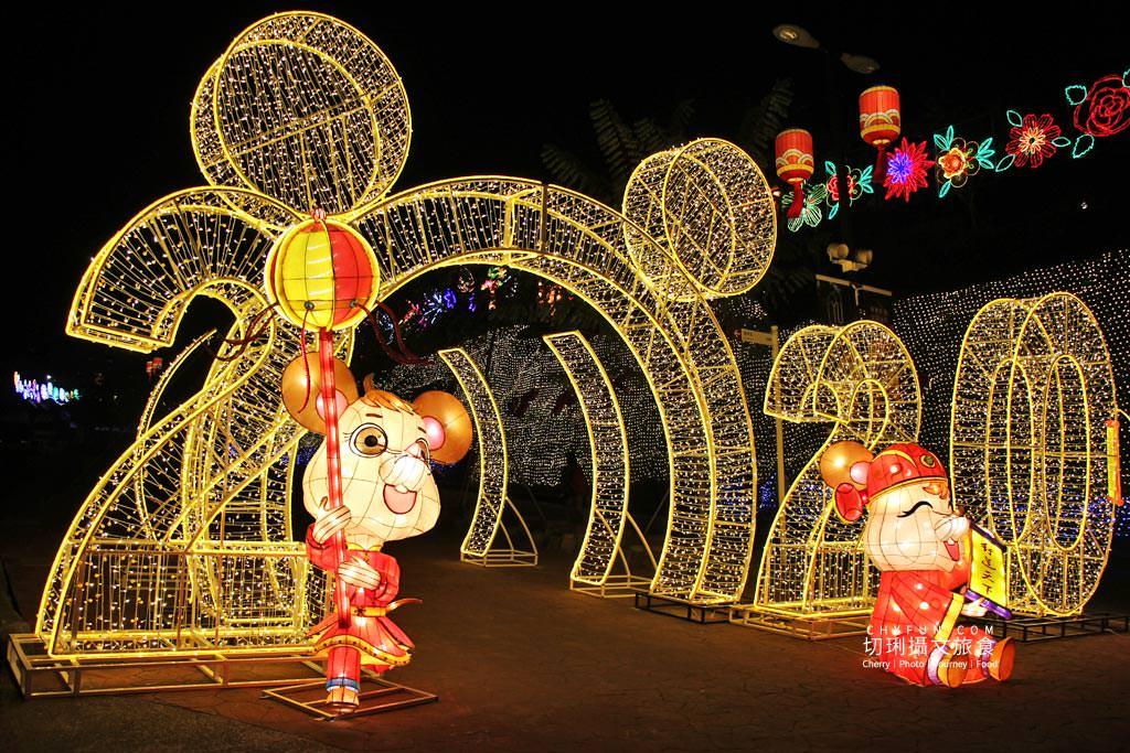 20200124042920_90 高雄|佛光山燈會煙火光雕2020很科技,無人機燈光秀花燈璀璨迎新年