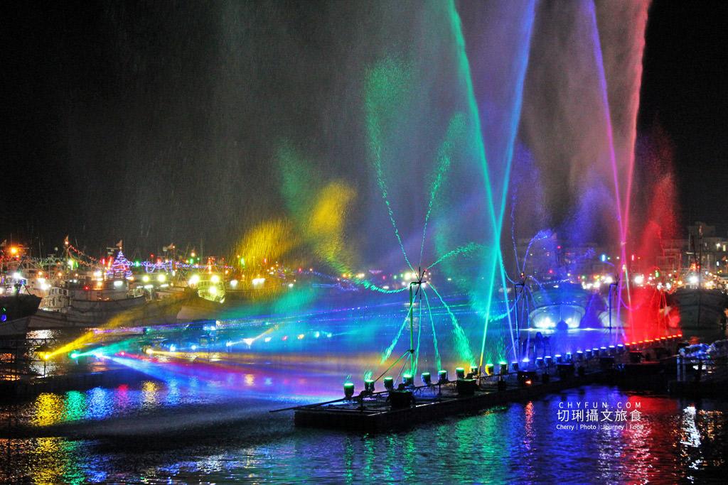 IMG_0576 澎湖|西嶼外垵讚元宵,創意水火舞燈光秀花火碼頭施放