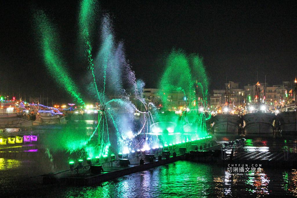 IMG_0580 澎湖|西嶼外垵讚元宵,創意水火舞燈光秀花火碼頭施放