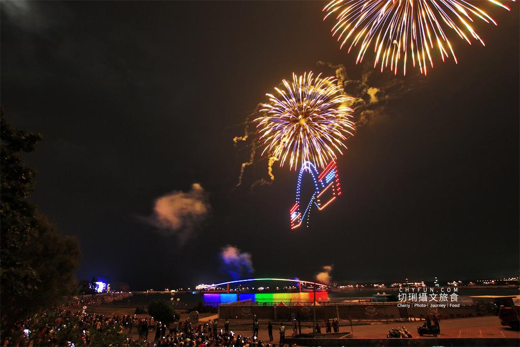 IMG_0781 澎湖|澎湖花火節漫威2020開幕,壯觀漫威宇宙300台無人機搭壯觀絢麗煙花